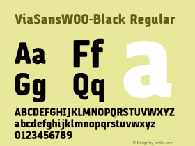 ViaSans-Black