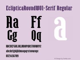 EclipticaRound-Serif