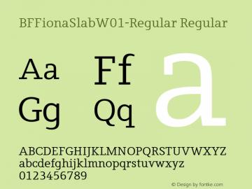 BFFionaSlab-Regular