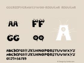 CCCreepyCrawly-Regular