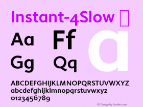 Instant-4Slow