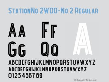 StationNo.2-No.2