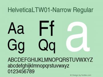 HelveticaLT-Narrow