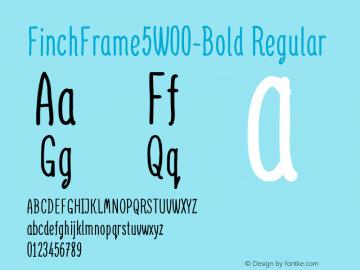 FinchFrame5-Bold