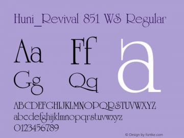 Huni_Revival 851 WS