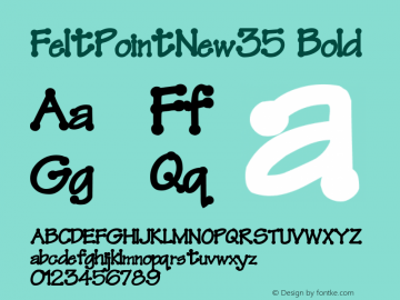 FeltPointNew35