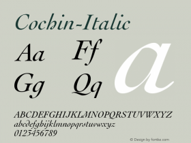 Cochin-Italic