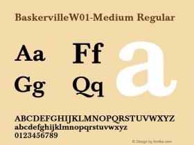 Baskerville-Medium