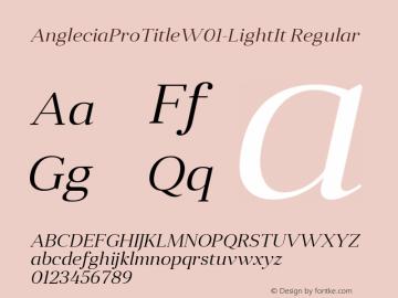 AngleciaProTitle-LightIt
