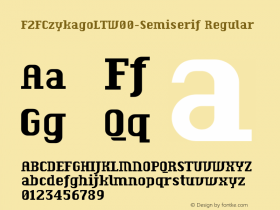 F2FCzykagoLT-Semiserif