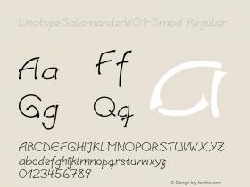 LinotypeSalamander-Smbd