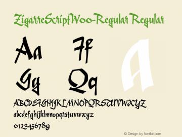 ZigarreScript-Regular