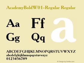 AcademyBold-Regular
