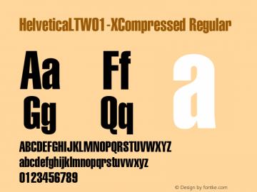 HelveticaLT-XCompressed