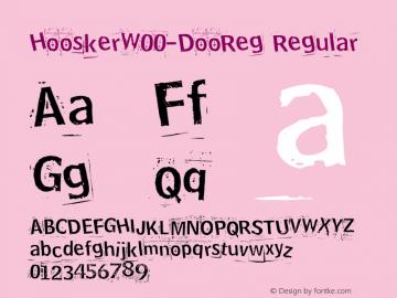 Hoosker-DooReg