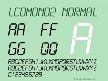 LCDMono2