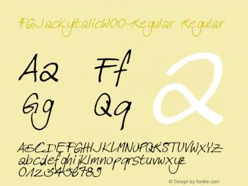 FGJackyItalic-Regular