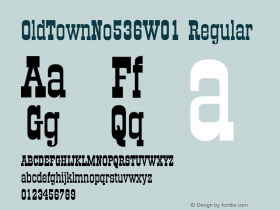 OldTownNo536