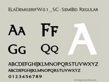 ElaDemiserif_SC-SemiBd