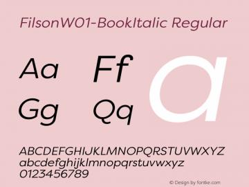 Filson-BookItalic