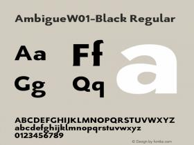 Ambigue-Black