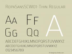 RopaSansSC-Thin