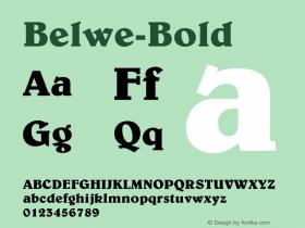 Belwe-Bold