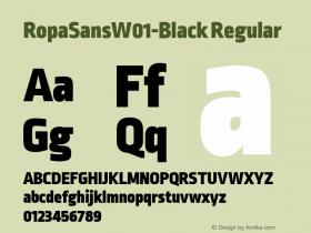 RopaSans-Black