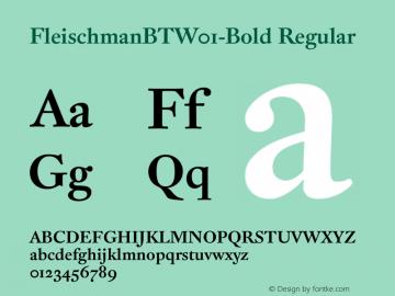 FleischmanBT-Bold