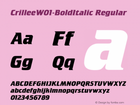 Crillee-BoldItalic