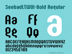 SeebadLT-Bold