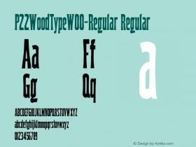 P22WoodType-Regular