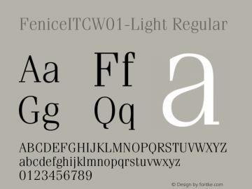 FeniceITC-Light