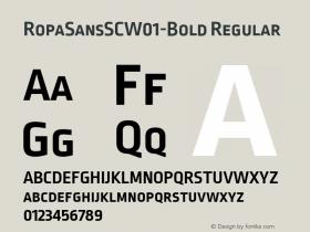 RopaSansSC-Bold