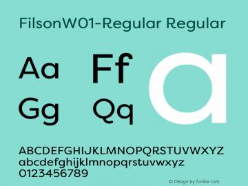 Filson-Regular