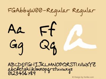 FGAbby-Regular