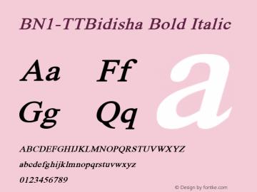 BN1-TTBidisha