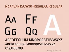 RopaSansSC-Regular
