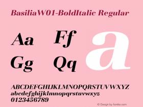Basilia-BoldItalic