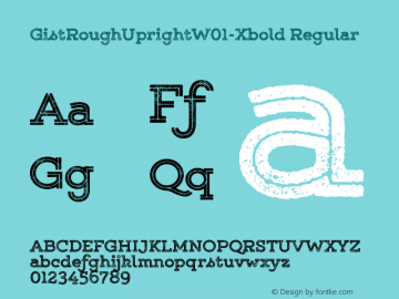 GistRoughUpright-Xbold