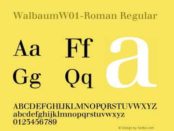 Walbaum-Roman