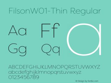 Filson-Thin