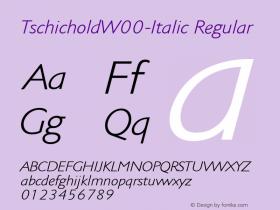 Tschichold-Italic