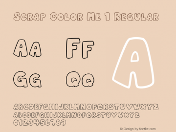 Scrap Color Me 1