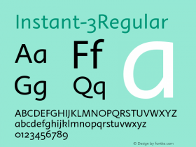 Instant-3Regular