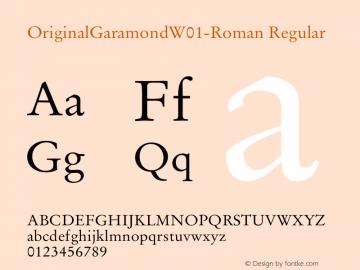 OriginalGaramond-Roman