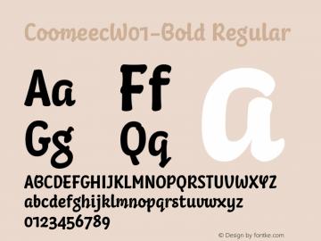 Coomeec-Bold