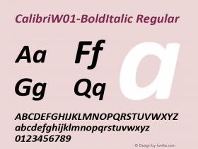 Calibri-BoldItalic