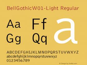 BellGothic-Light