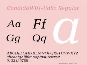 Candida-Italic